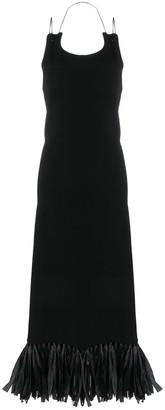 Jil Sander Tassel-Hem Maxi Dress