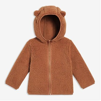 Joe Fresh Baby Boys' Sherpa Jacket, Dark Navy (Size 6-12)