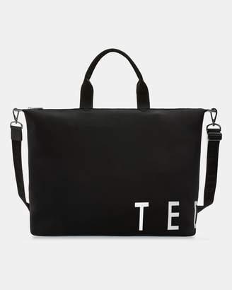 Ted Baker Branded Neoprene Large Tote Bag