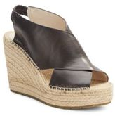 Kenneth Cole Ona Leather Espadrille Wedge Sandals