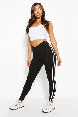boohoo Side Stripe Legging