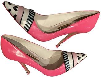 Sophia Webster Pink Patent leather Heels