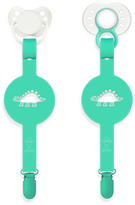 Bed Bath & Beyond Paciplay Teethable Pacifier Holder - Green Dino