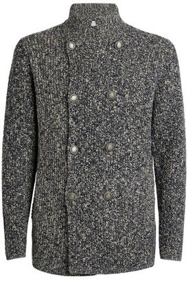 Brunello Cucinelli Wool-Cashmere Double-Breasted Cardigan