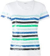 P.A.R.O.S.H. striped T-shirt - women - Cotton/PVC - S