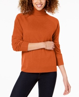 Karen Scott Luxsoft Turtleneck Sweater, Created for Macy's