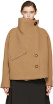 Acne Studios Tan Chessa Coat