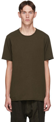 Ziggy Chen Brown Back Detail T-Shirt