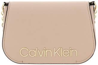 Calvin Klein Mini Bag Dressed Up Bag In Eco-leather With Maxi Metal Logo