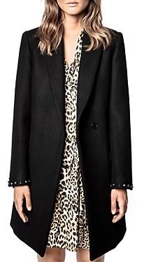 Zadig & Voltaire Marco Studded Coat