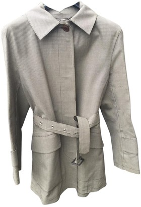 MACKINTOSH Brown Synthetic Trench coats