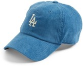 American Needle Women's Corduroy Baseball Cap - Blue