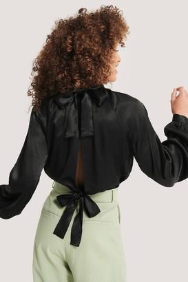 Imane Asry X NA-KD Tie Back Blouse