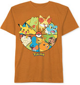 JEM Boys' Wheel of Pokemon T-Shirt