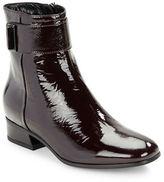 Aquatalia Lupita Patent Leather Ankle Boots