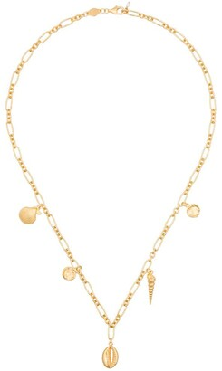 Anni Lu Treasure shell charm necklace