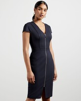 Thumbnail for your product : Ted Baker Piping Detail Bodycon Dress