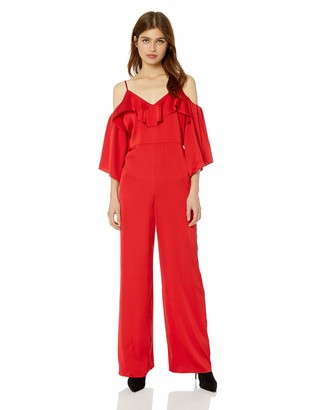 GUESS Women's Off The Shoulder Andie Jumpsuit