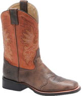 "Roper Men's Double H 11"" Wide Square Toe"