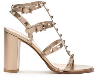 Valentino Rockstud caged-style sandals