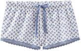 Joe Fresh Unisex Drawstring Pyjama Short, Print 4 (Size XS)