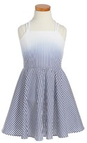 Milly Minis Toddler Girl's Ombre Stripe Dress
