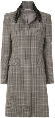 Martha Medeiros Basque Renascenca trench coat