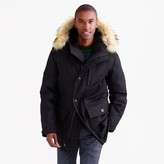 J.Crew Nordic down parka in wool