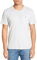 Tailor Vintage Men's Linen Blend Pocket Crewneck T-Shirt