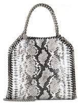 Stella McCartney Falabella Mini Mock Python Shoulder Bag