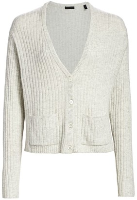 ATM Anthony Thomas Melillo Cashmere Deep-V Cardigan