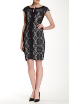 Jax Front Zip Lace Dress