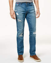 Tommy Hilfiger Men's Straight-Leg Joel Distressed Jeans