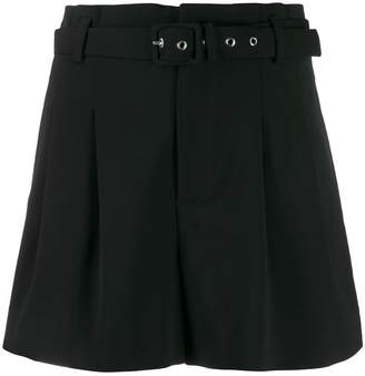 RED Valentino RED(V) high-rise pleated shorts