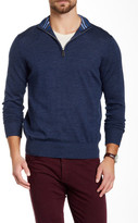Tailorbyrd Duke Quarter Zip Wool Sweater