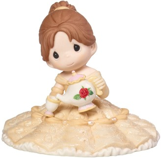 Precious Moments Disney Girl As Belle With Chip Figurine