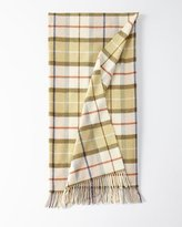Tuscany Lambs Wool Throw Blanket