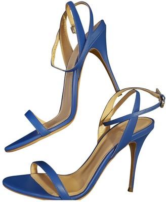 Polo Ralph Lauren Blue Leather Sandals