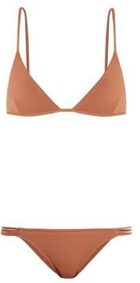 Melissa Odabash Bali Triangle Bikini - Womens - Camel