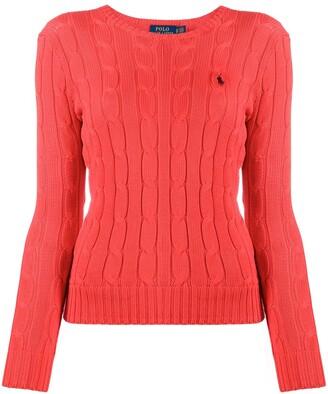 Polo Ralph Lauren Julianna logo-embroidered jumper