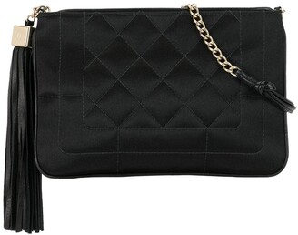 Chanel Pre Owned 2004 Quilted Tassel Shoulder Bag