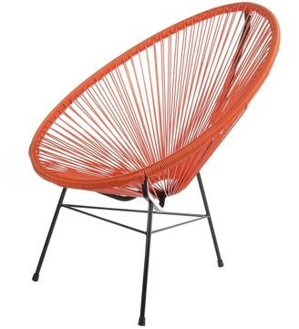 Joseph Allen Handmade Acapulco Papasan Patio Lounge Chair