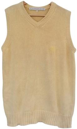 JC de CASTELBAJAC Yellow Cotton Knitwear