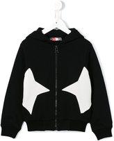 MSGM star print hoodie