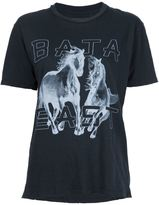 Baja East horse print T-shirt