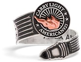 Alex and Ani LIBERTY COPPER CARRY LIGHTTM Spoon Ring, Large