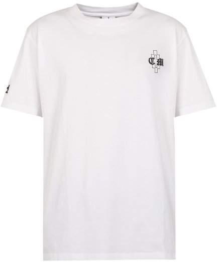 Marcelo Burlon County of Milan Poisonous Fly Print Cotton T Shirt - Mens - White
