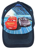 Cars Boys' Baseball Hat Disney - Blue One Size