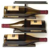 Napa Home and Garden Tribeca 4 Bottle Wall Wine Rack