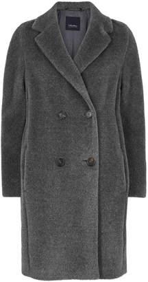 Max Mara 'S Rose Grey Alpaca-blend Coat